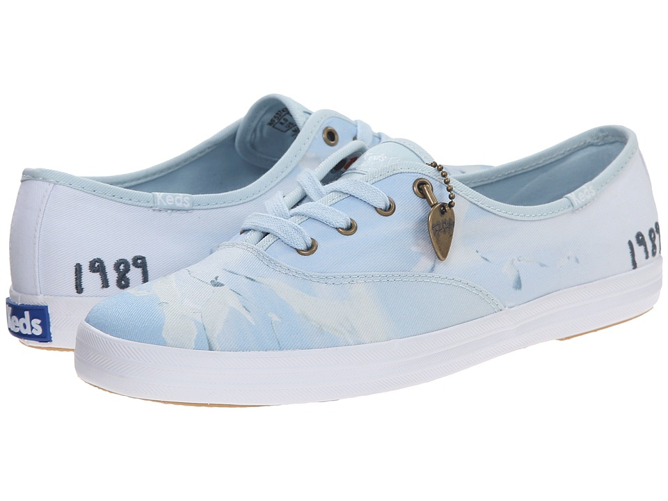 Keds - Taylor Swift Champion Seagull (Blue) Women's Shoes