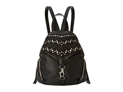 Steve Madden - Studded Detail Backpack (Black) Backpack Bags
