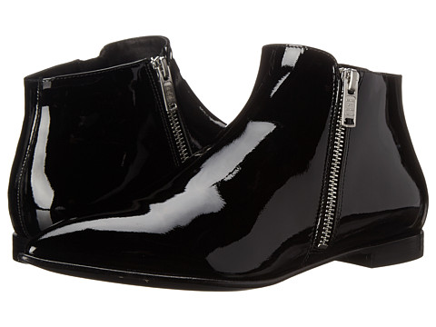 Marc by Marc Jacobs - Blake Double Side Zip Bootie (Black) Women's Boots