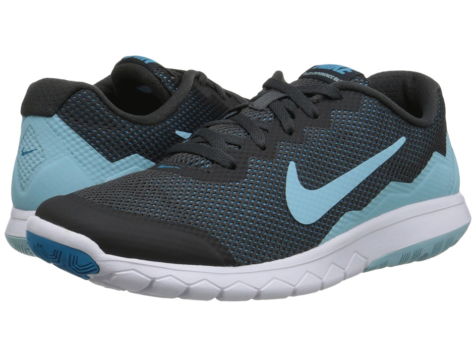 Nike - Flex Experience Run 4 (Anthracite/Blue Lagoon/White/Copa) Women's Running Shoes