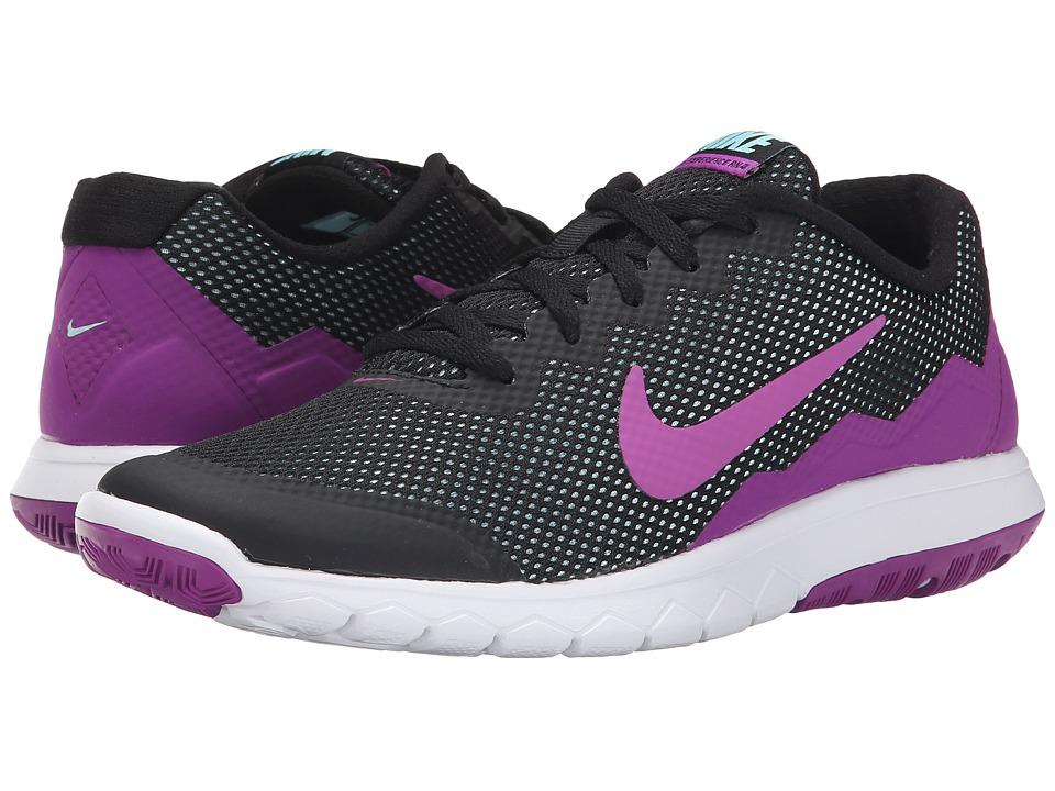 Nike - Flex Experience Run 4 (Black/Copa/White/Vivid Purple) Women's Running Shoes