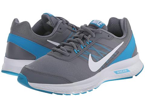 Nike - Air Relentless 5 (Cool Grey/Blue Lagoon/White/White) Women