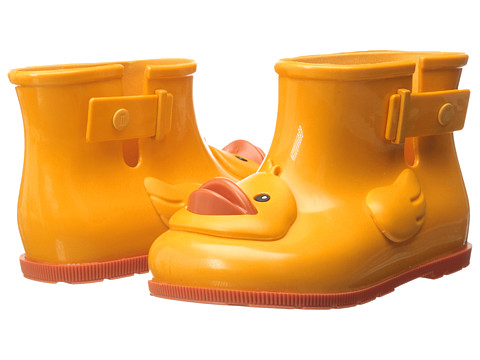Mini Melissa - Sugar Rain II (Toddler) (Yellow) Girls Shoes