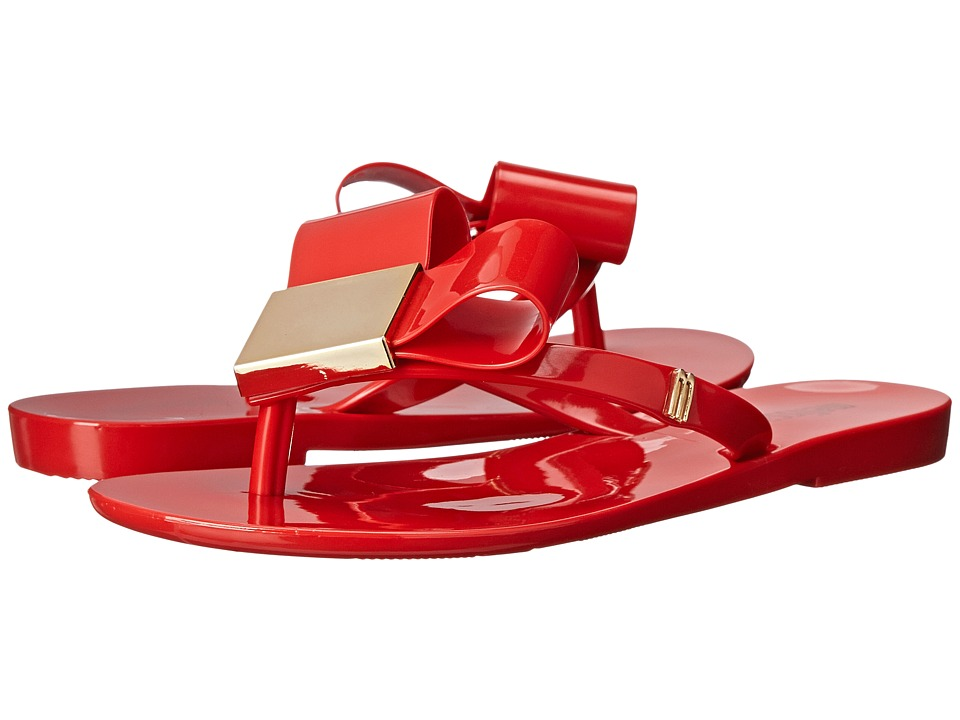 Mini Melissa - Harmonic II (Little Kid) (Red) Girls Shoes
