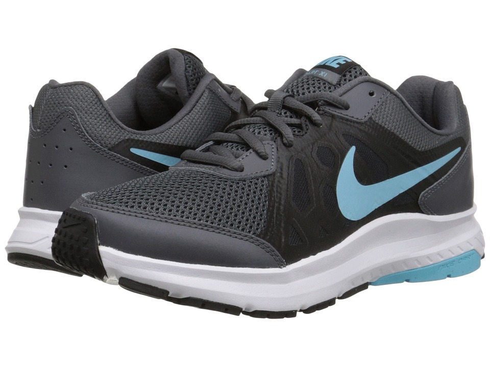 Nike - Dart 11 (Dark Grey/Black/White/Tide Pool Blue) Women