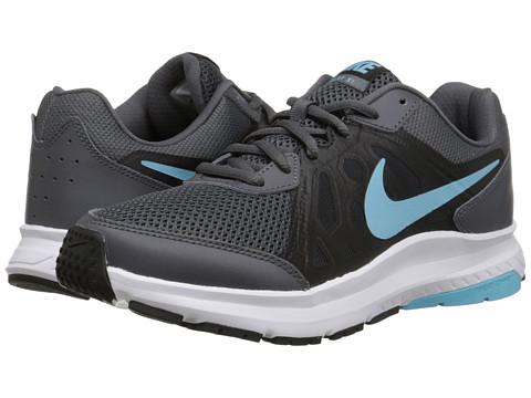 Nike - Dart 11 (Dark Grey/Black/White/Tide Pool Blue) Women