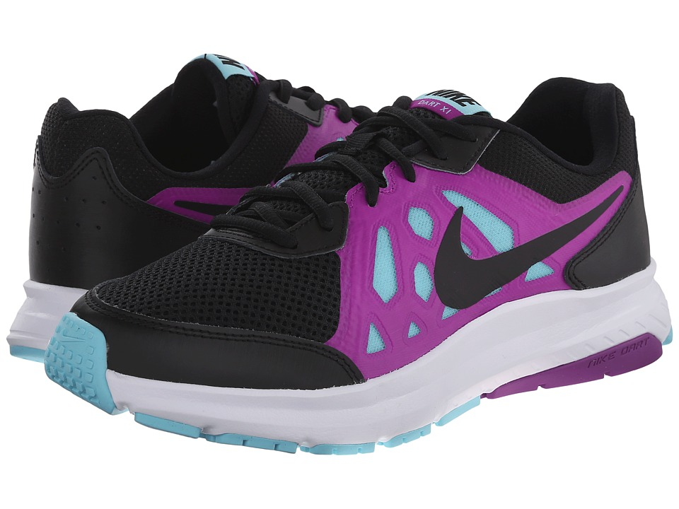 Nike - Dart 11 (Black/Vivid Purple/Copa/Black) Women