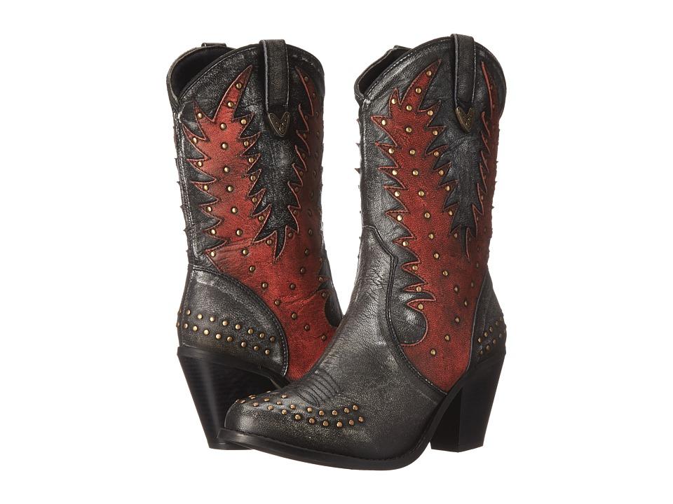 Dingo - Libby (Black) Cowboy Boots