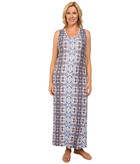 Karen Kane Plus - Plus Size Print Maxi Dress (Print) Women's Dress