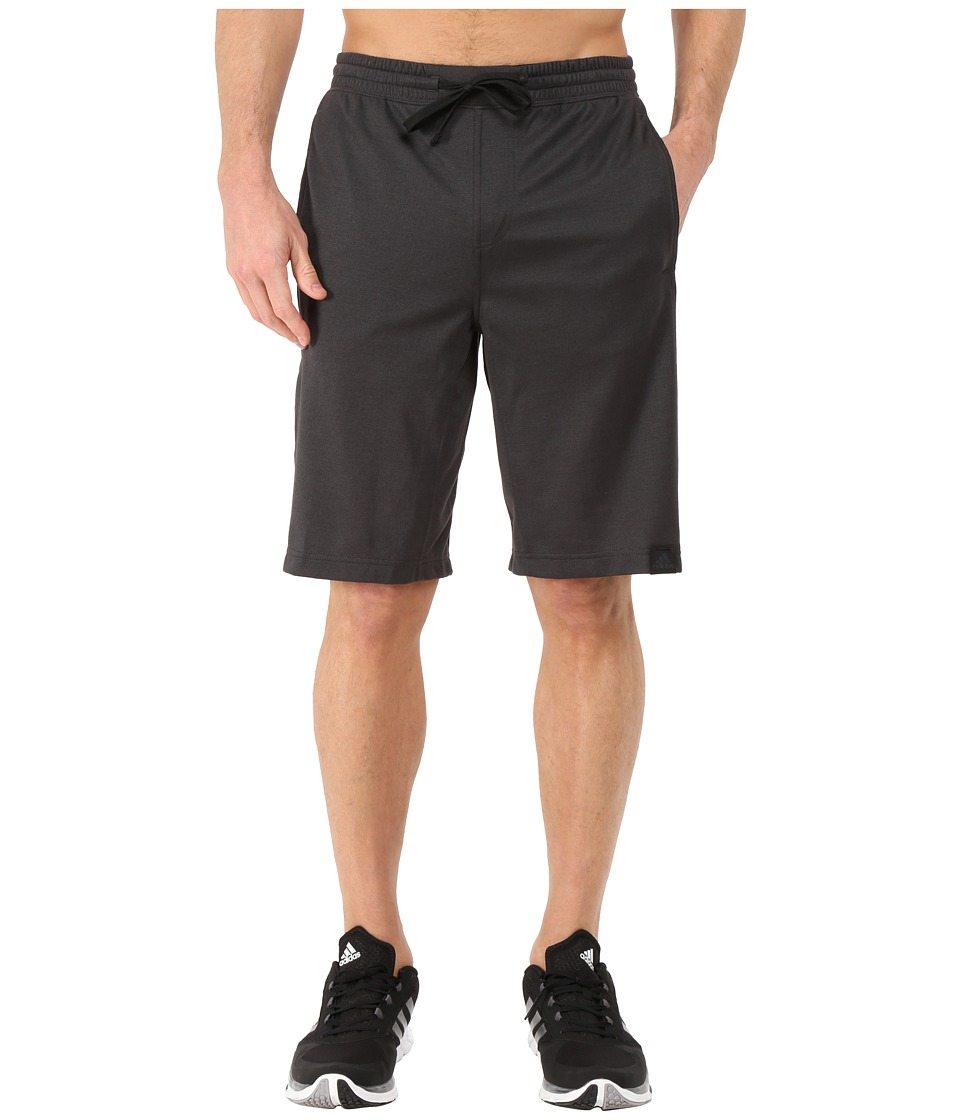 adidas - S1 Shorts (Black/Black) Men