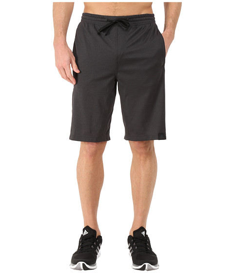 adidas - S1 Shorts (Black/Black) Men's Shorts