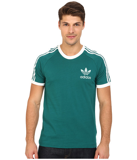 adidas Originals - Sport Essentials Tee (Emerald/White) Men