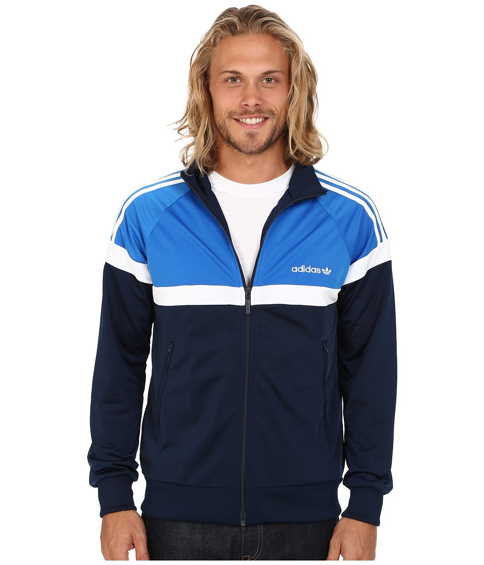 adidas Originals - Itasca Track Top (Collegiate Navy/Bluebird/White) Men's Clothing