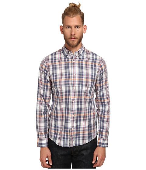 Jack Spade - Davies Plaid Shirt (Blue Multi) Men