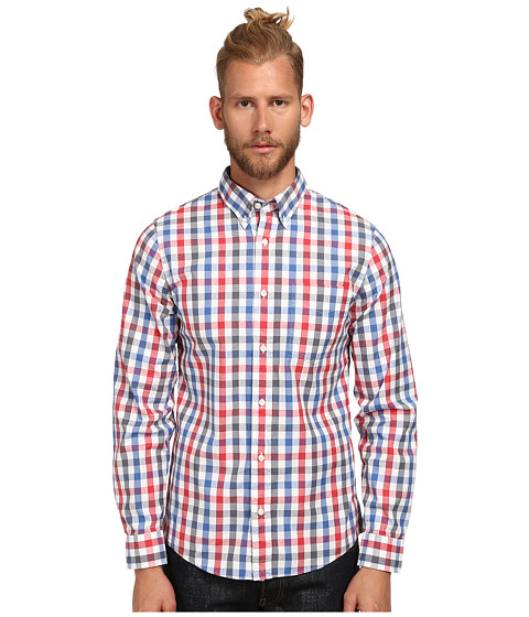 Jack Spade - Winslow Check Shirt (Red) Men's Clothing