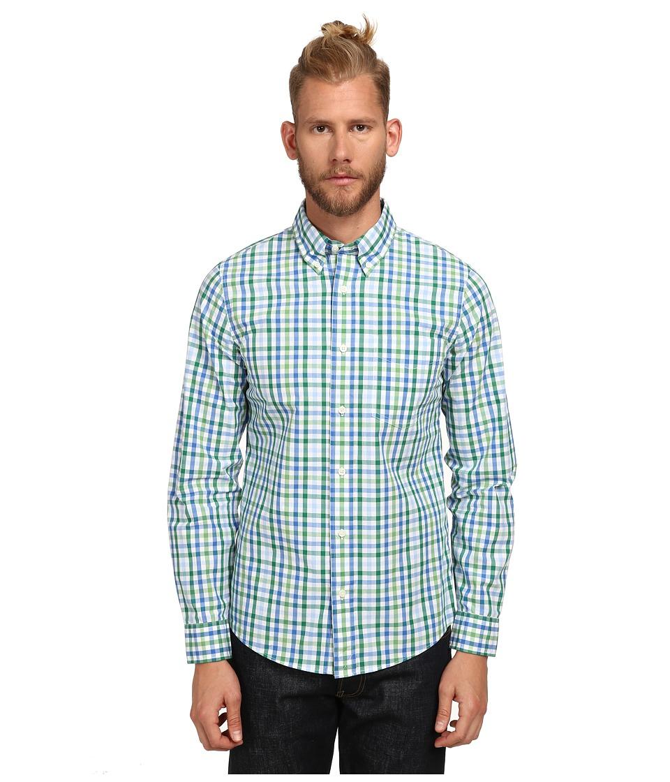 Jack Spade - Avery Gingham Shirt (Green) Men