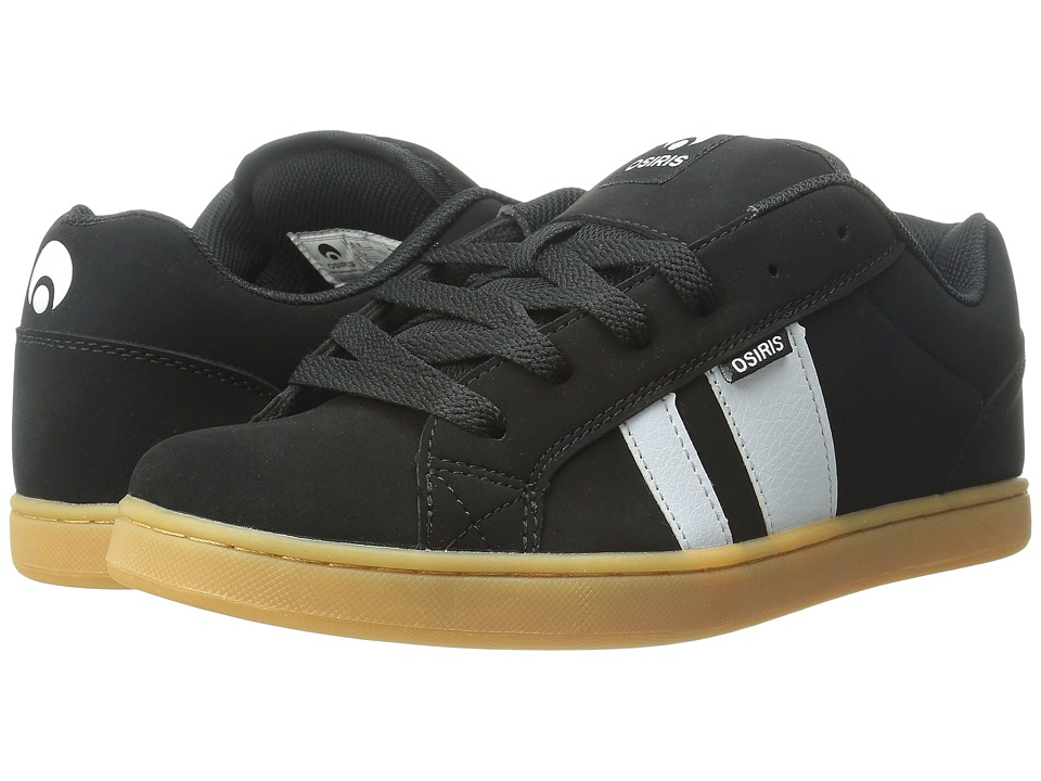 Osiris - Loot (Black/Gum) Men's Skate Shoes