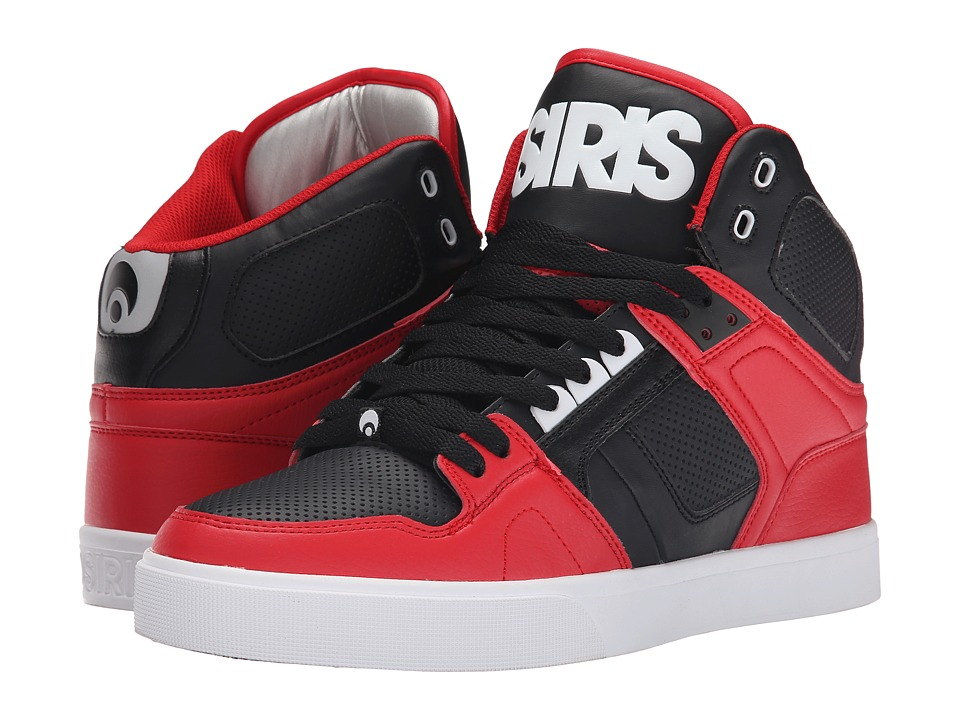 Osiris - NYC83 VLC (Red/Charcoal) Men