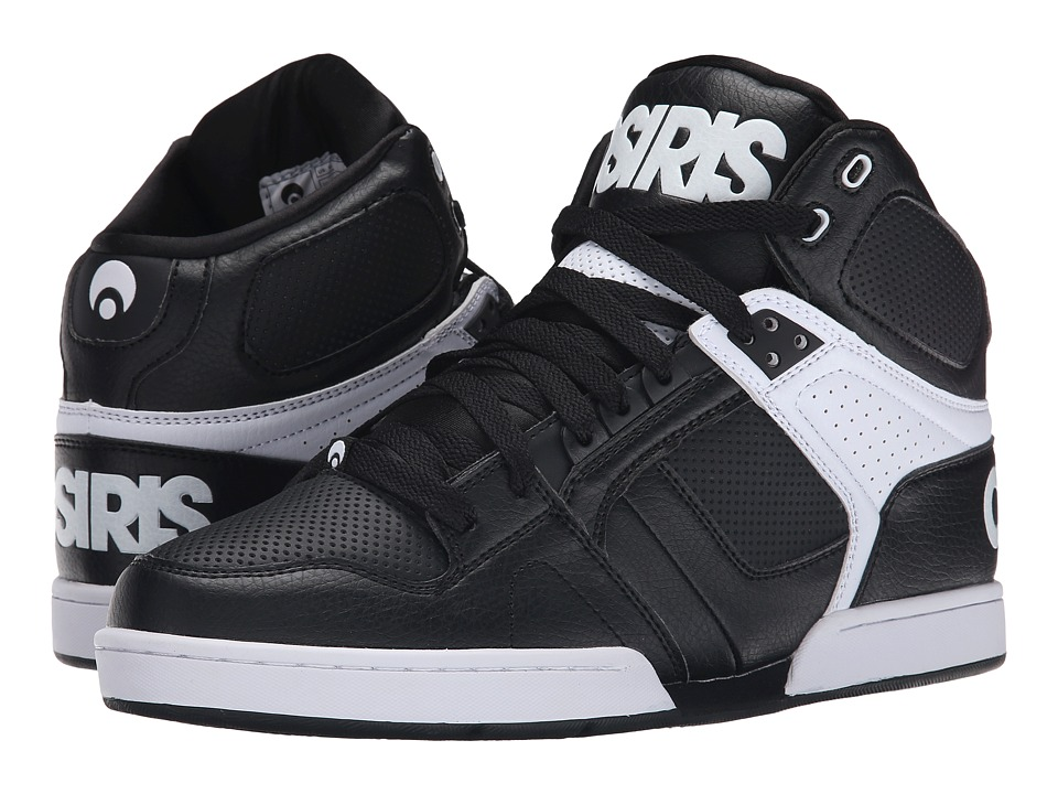 Osiris NYC83 (Black/White/White) Men
