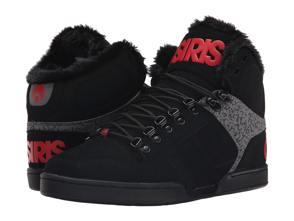 Osiris - NYC83 SHR (Black/Red) Men