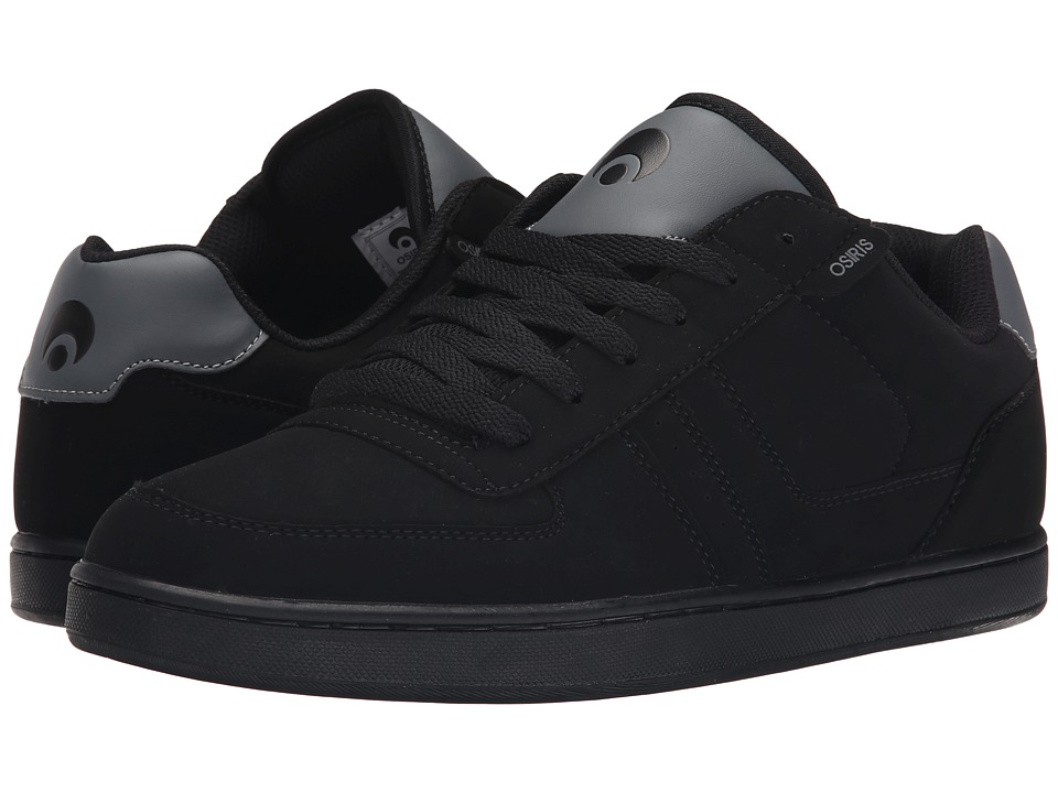 Osiris - Relic (Black/Charcoal/Charcoal) Men's Skate Shoes