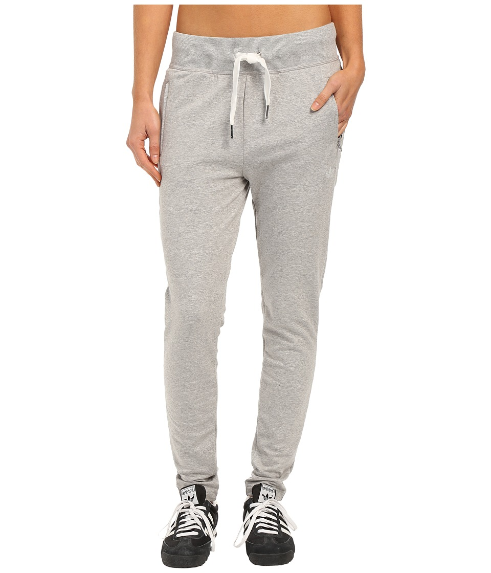 adidas Originals - Slim Track Pants (Medium Grey Heather) Women's Casual Pants