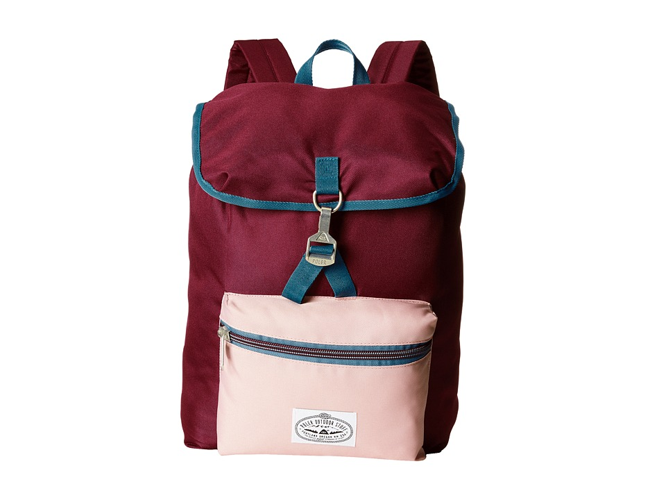 Poler - Field Pack (Red/Burgundy/Rose) Backpack Bags