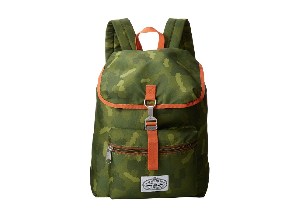 Poler - Field Pack (Green Camo) Backpack Bags