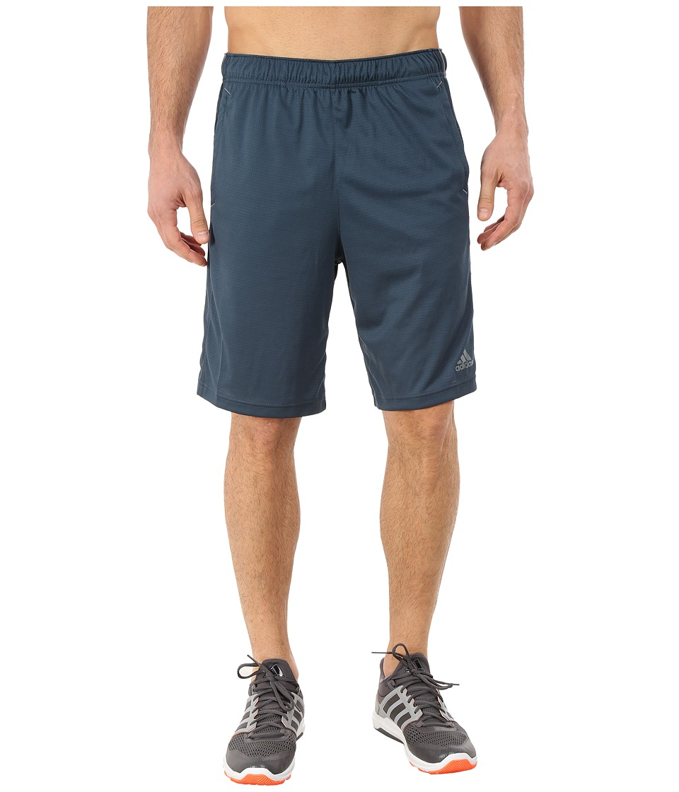 adidas - Essential 3S Shorts (Midnight/Vista Grey) Men's Shorts