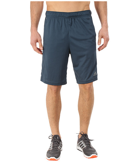 adidas - Essential 3S Shorts (Midnight/Vista Grey) Men