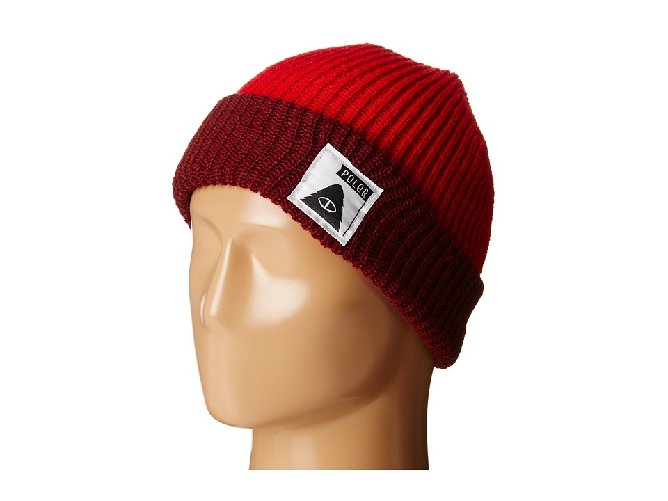 Poler - Trailboss Beanie (Dark Red/Burgundy) Beanies