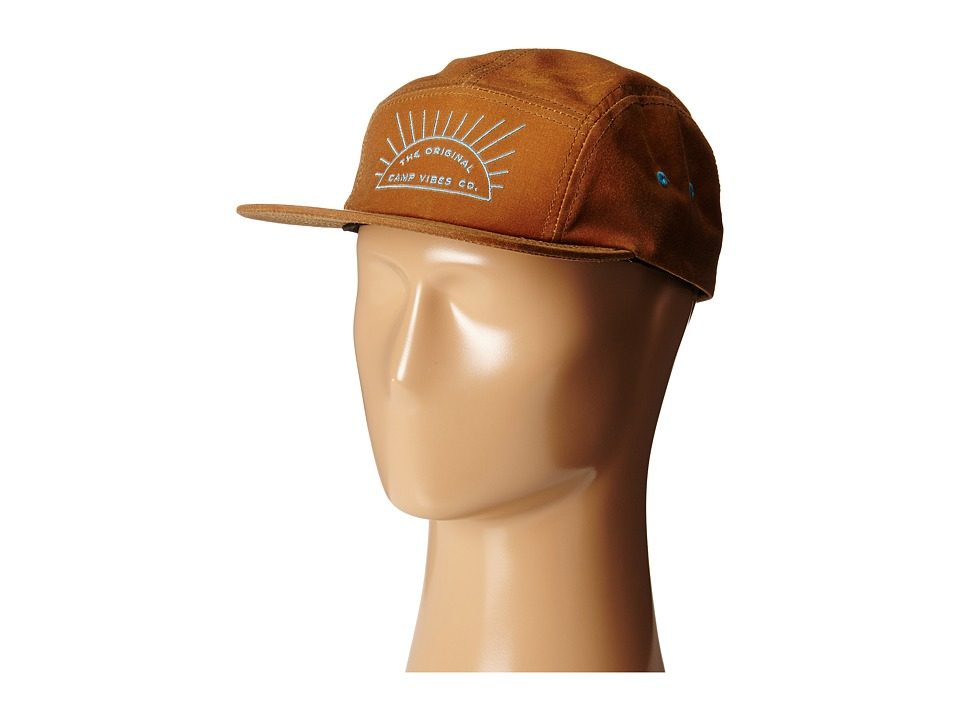 Poler - Wax Camper Hat (Brown) Caps