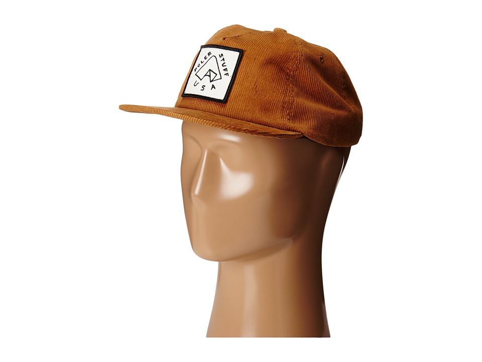 Poler - Floppy Cord Tent Hat (Hazel) Caps