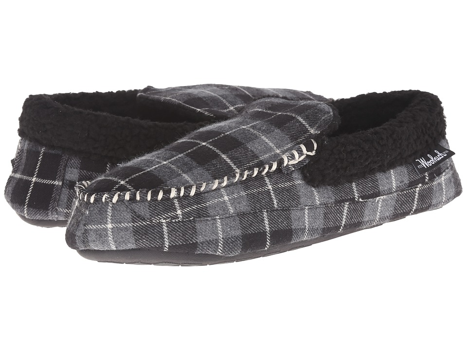 Woolrich - Camper (Charcoal Plaid) Men's Slippers