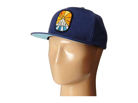 Poler - Sunny Dayz Snapback Hat (Ocean) Caps