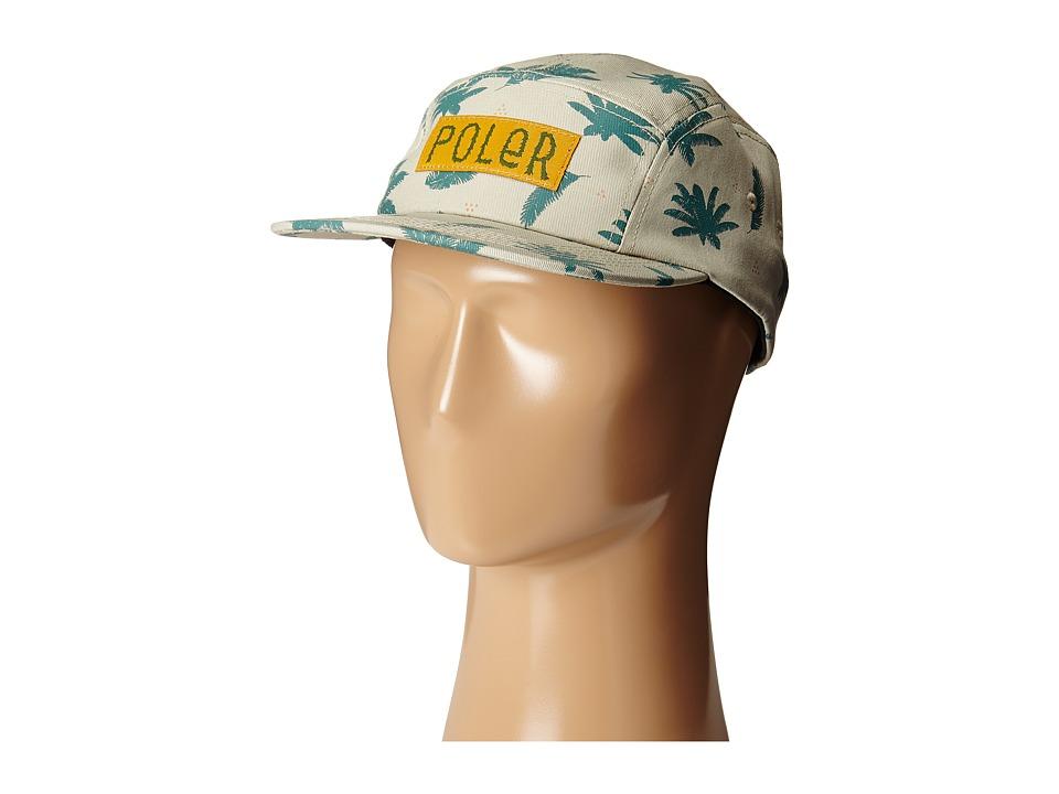 Poler - Camper Fern Hat (Fern Print/Khaki) Caps