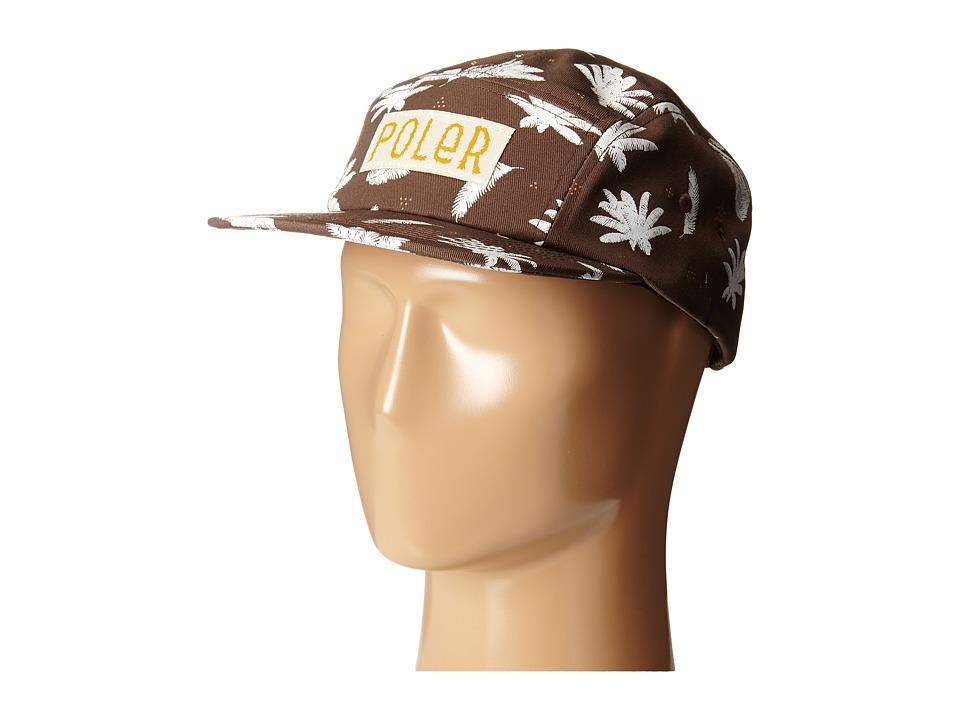 Poler - Camper Fern Hat (Fern Print/Beaver) Caps