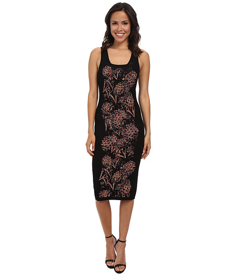 Nicole Miller - Pineapple Pointelle Tank Dress (Multi) Women's Dress