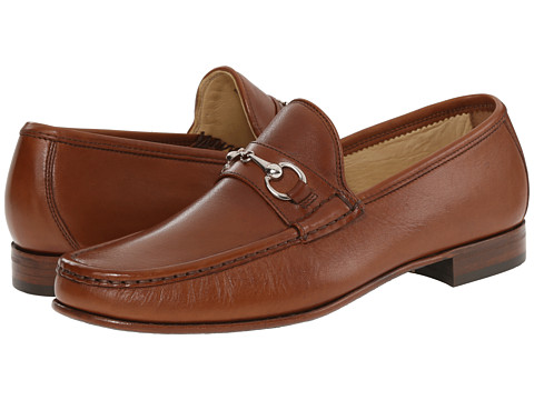Massimo Matteo - Hand Sewn Moccasin with Bit (Tan) Men