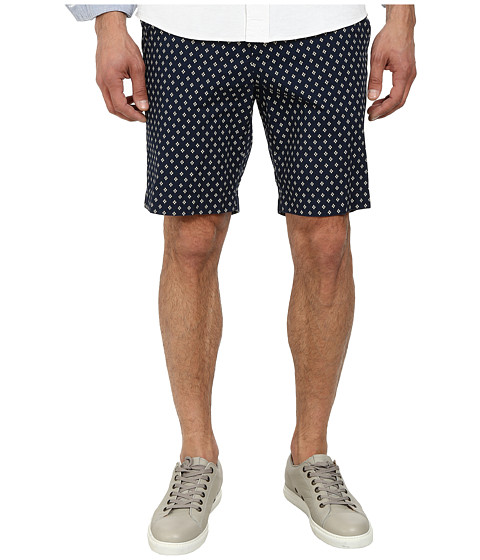Jack Spade - Sharpe Dot Shorts (Navy) Men's Shorts