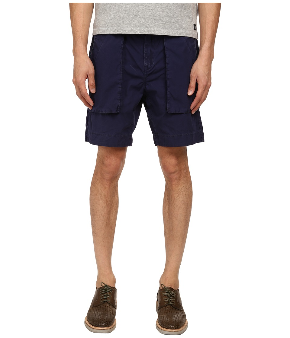 Jack Spade - Sailcloth Drawstring Shorts (Jack Navy) Men