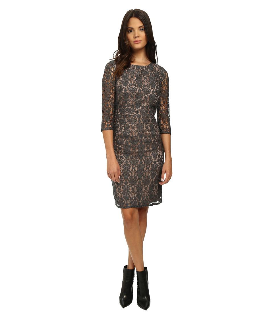 Trina Turk Nadia Charcoal Dress