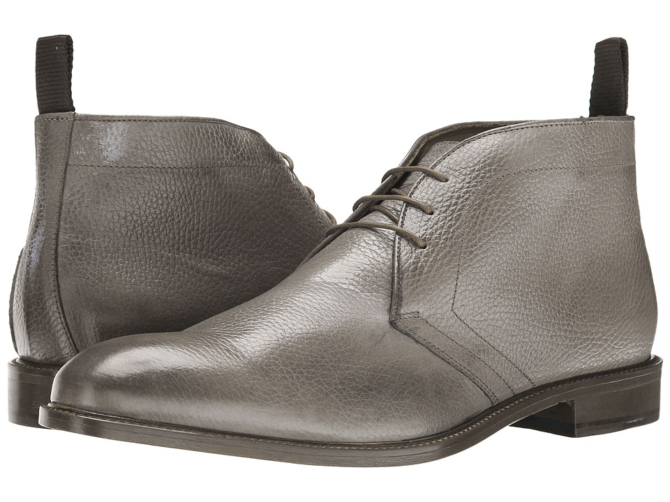 Massimo Matteo - 3-Eye Chukka Boot (Grey) Men's Boots