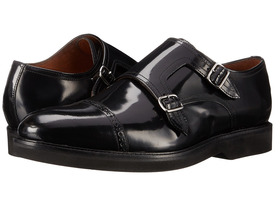 Massimo Matteo Dbl Monk Brush Off CT (Black) Men