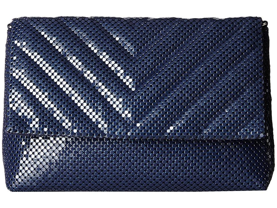 Jessica McClintock - V Quilt Minibag (Navy) Handbags