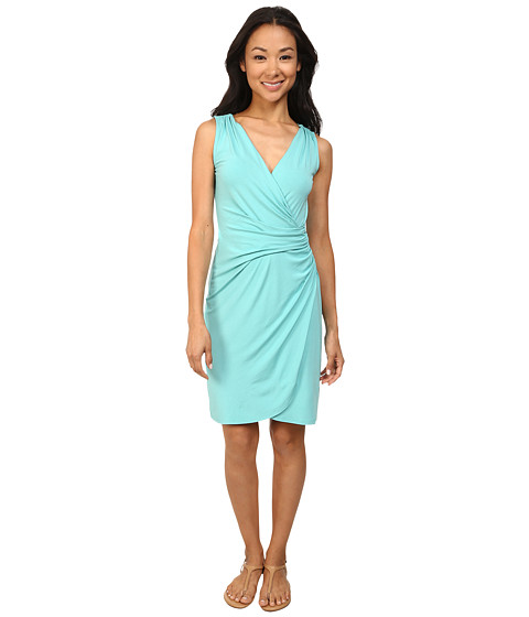 Tommy Bahama - Tambour Gathered Short Dress (Ice Cave) Women's Dress