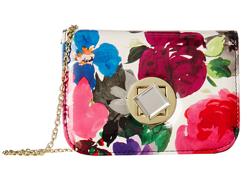 Jessica McClintock - Floral Diamond Minibag (Floral) Handbags