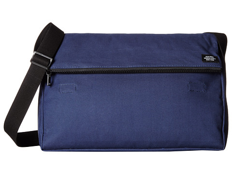 Jack Spade - Fold Top Messenger Bag (Navy/Tank) Briefcase Bags
