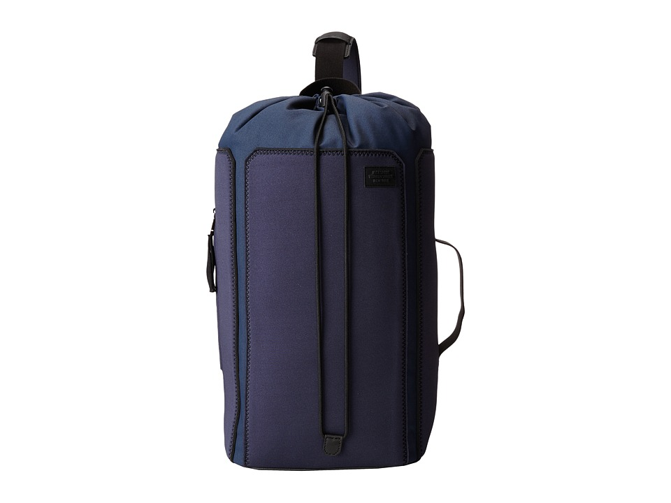 Jack Spade - Geller Drawstring Backpack (Navy/Black) Backpack Bags