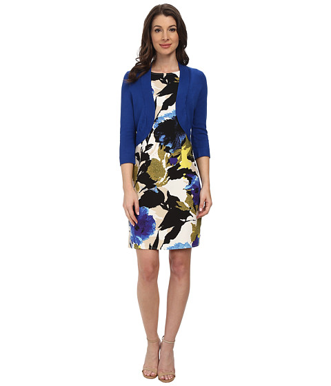 Jessica Howard - Sleeveless Belted Dress (Royal) Women